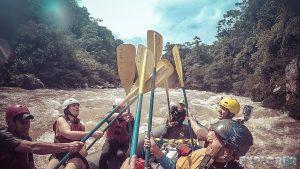 Ecuador Tena Jondachi River Rafting High Five 2