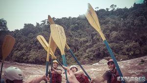 Ecuador Tena Jondachi River Rafting High Five