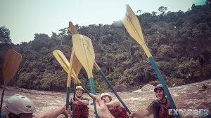 Ecuador Tena Jondachi River Rafting High Five