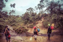 Ecuador Tena Jondachi River Rafting Mud Hike