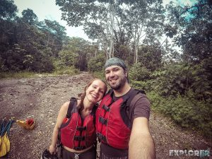 Ecuador Tena Jondachi River Rafting Selfie 2