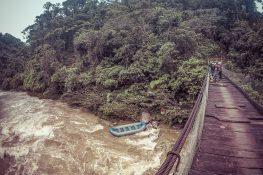 Ecuador Tena Jondachi River Rafting Start