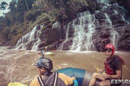 Ecuador Tena Jondachi River Rafting Waterfall 2
