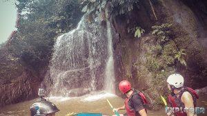 Ecuador Tena Jondachi River Rafting Waterfall 3