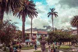 Equador Otavalo Backpacking Backpacker Travel