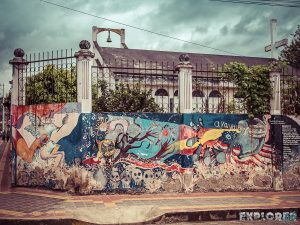 Equador Otavalo Graffiti Backpacking Backpacker Travel