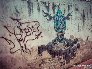 Equador Otavalo Graffiti Backpacking Backpacker Travel