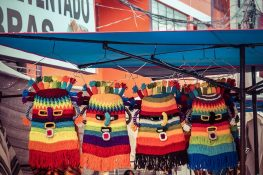 Equador Otavalo Market Masks Backpacking Backpacker Travel
