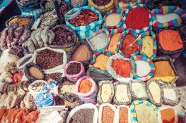 Equador Otavalo Market Spices Backpacking Backpacker Travel