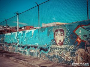 Equador Quito Alamor Graffiti Backpacking Backpacker Travel