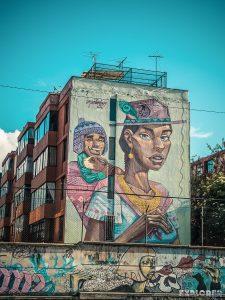 Equador Quito Alamor Mural Apitatan Detonarte Backpacking Backpacker Travel
