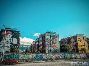 Equador Quito Alamor Mural Onesto Apitatan Stinkfish Detonarte Backpacking Backpacker Travel