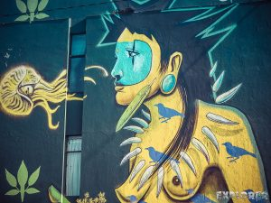 Equador Quito Alamor Mural Steep Detonarte Backpacking Backpacker Travel