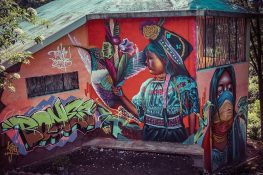 Equador Quito Quitumbe Mural Tenaz Backpacking Backpacker Travel