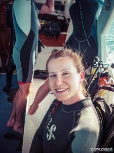 Galapagos San Cristobal Kicker Rock Scuba Diving Backpacking Backpacker Travel