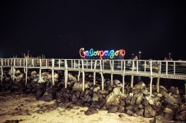 Galapagos San Cristobal Lightpainting Backpacking Backpacker Travel