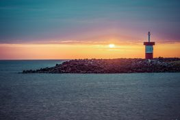 Galapagos San Cristobal Punta Carola Beach Lighthouse Backpacking Backpacker Travel