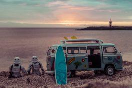 Galapagos San Cristobal Punta Carola Beach Lighthouse Surfing Stormtrooper Backpacking Backpacker Travel