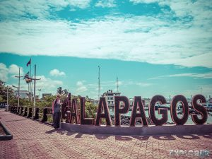 Galapagos Santa Cruz Harbor Backpacking Backpacker Travel