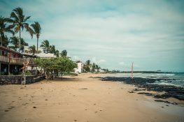 ecuador isabela galapagos beach backpacker backpacking travel