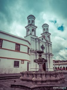 ecuador latacunga church backpacker backpacking travel