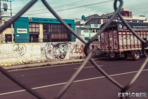 ecuador latacunga graffiti backpacker backpacking travel