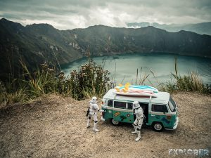 ecuador quilotoa lake surfing stormtrooper backpacking travel