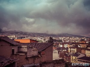 ecuador quito clouds backpacker backpacking travel