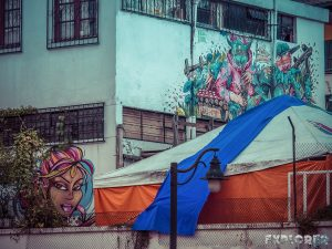 ecuador quito graffiti backpacker backpacking travel