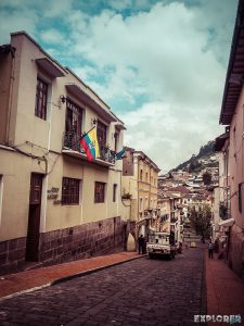 ecuador quito la posada colonial backpacker backpacking travel