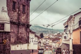 ecuador quito streets backpacker backpacking travel