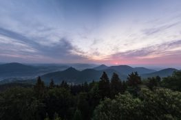 Germany Pfalz Rehbergturm Trifels Castle Sunrise ExplorerVibes Backpacking Backpacker Travel