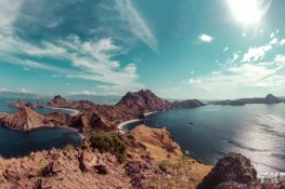 Indonesia Flores Komodo Pulau Padar Sunrise ExplorerVibes Backpacking Backpacker Travel