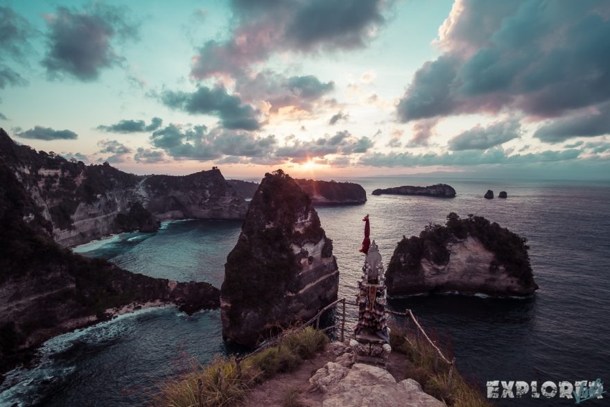 Indonesia Nusa Penida King Five Sunrise ExplorerVibes Backpacking Backpacker Travel 2