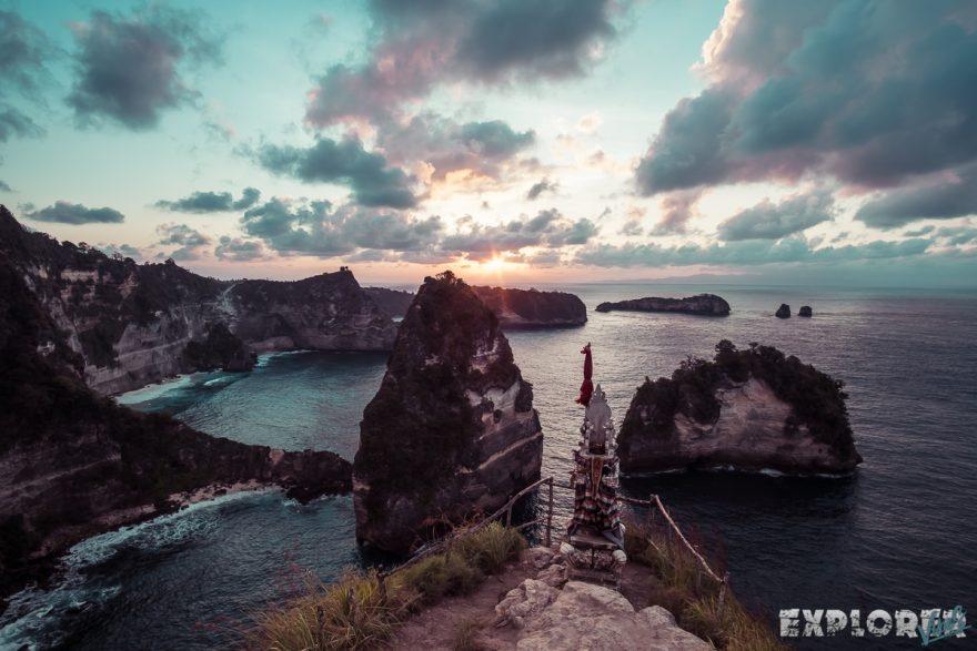 Indonesia Nusa Penida King Five Sunrise ExplorerVibes Backpacking Backpacker Travel 2