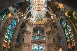 Spain Barcelona Sagrada Familia Panorama ExplorerVibes Backpacking Backpacker Travel