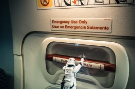Ecuador Airplane Lufthansa Surfing Stormtroopers Emergency Exit Backpacker Backpacking Travel